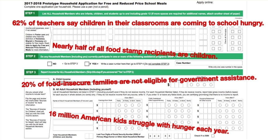 Fri 11/1: Write a comment to protect kids' access to food. Why do we even have to write a headline like this in America? Deadline TONIGHT! 11:59 pm EST.