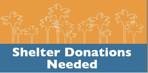 Donations Needed for Ventura's New Homeless Shelter! You may have some of this stuff in your garage!