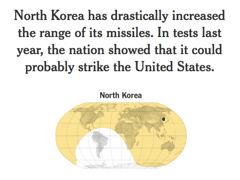 range of NK nuclear missiles