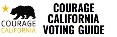Courage CA Voter guide