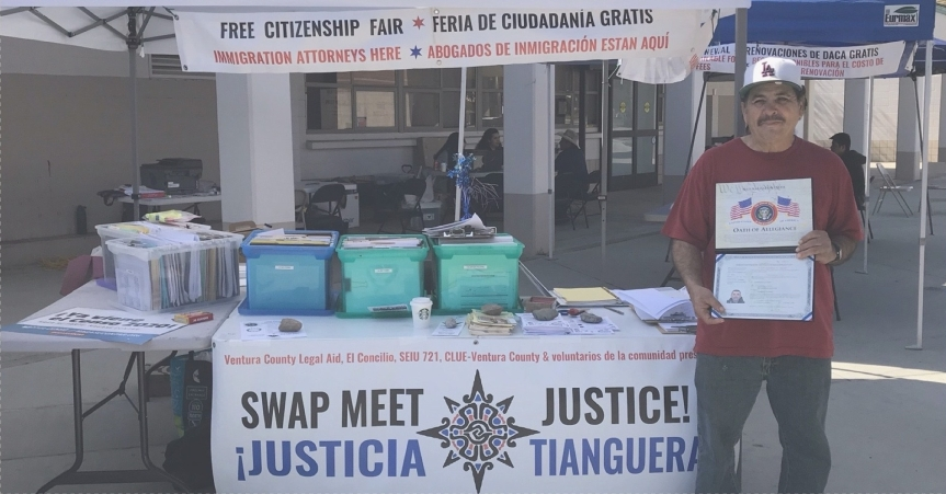 "Mon 2/24: ""Thank you!"" to every Swap Meet Justice volunteer!"