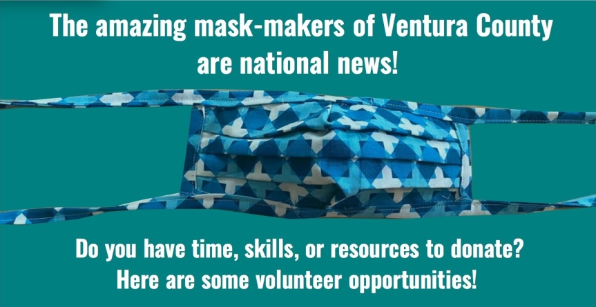 Wed. 3/25: Ventura County volunteers step up! Update on requests for help.