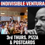 PIZZA AND POSTCARDS