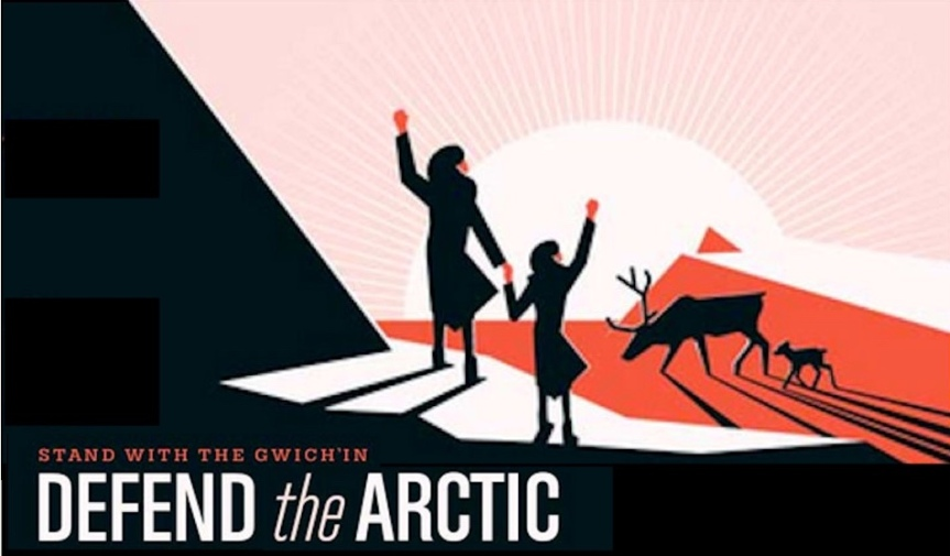 Tues 12/8: Two actions to defend the Arctic Refuge from oil drilling! Deadline Dec. 17th.
