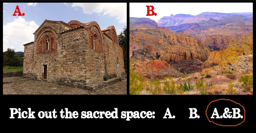 Tues 12/22: We don't put freeways through churches. Why allow a mine under OakFlat?