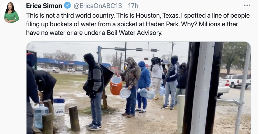 Help Texans affected by the weather crisis!