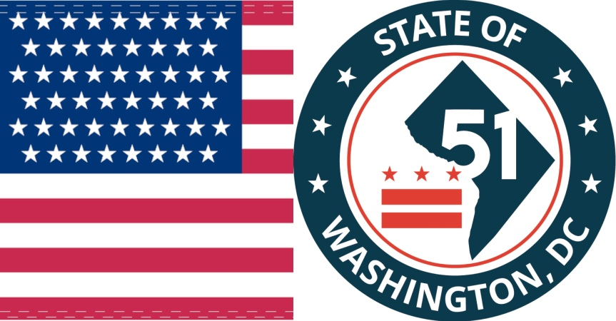 D.C. statehood is in the HOUSE! Pile on! YES on H.R.51/S.51!