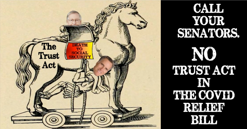 """Thurs 3/4: Romney's TRUST Act is a """"Trojan Horse"""" to cut seniors' Social Securitybenefits!"""