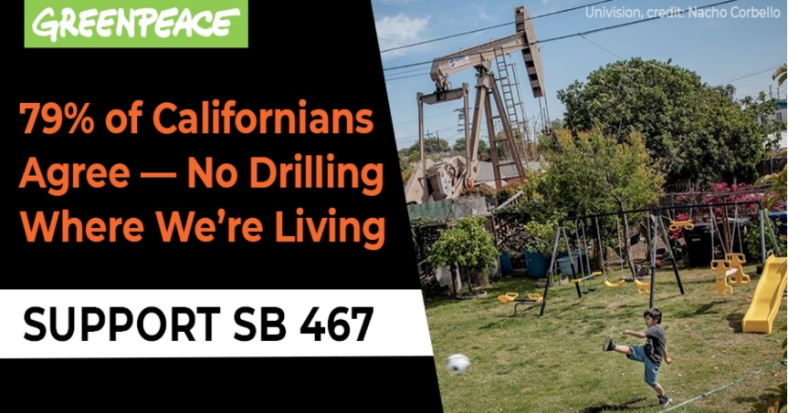 SB-467 and SB-47 – It's time to push these environmental justice bills through.
