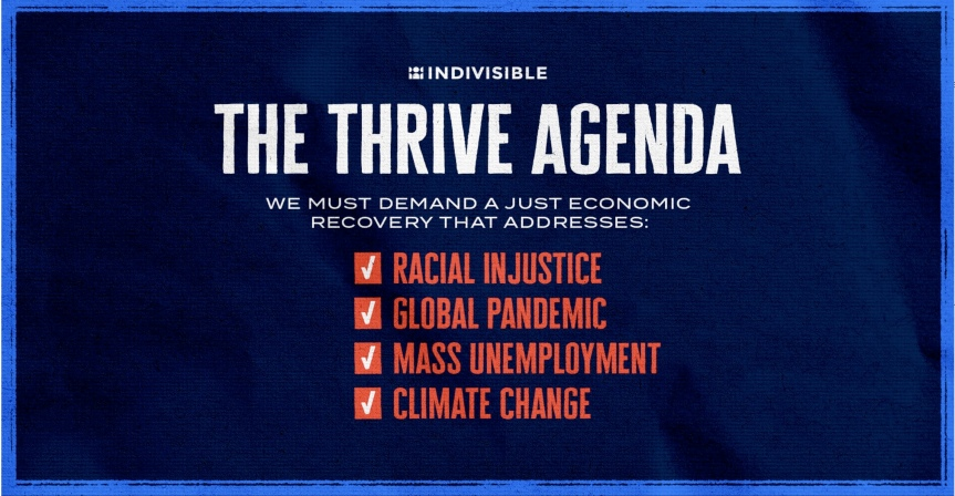 Ask our legislators to support the THRIVE Agenda!