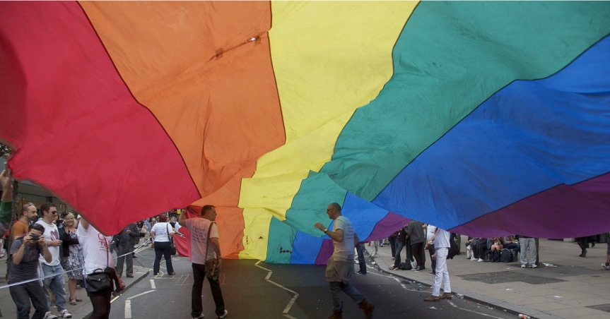 Using our influence for good –  supporting LGBTQI+ people at home andabroad.