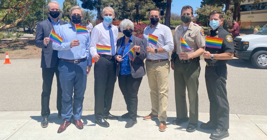Thank our Board of Supervisors for their LGBTQ+ Pride MonthProclamation!