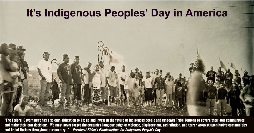 Actions to take on Indigenous Peoples'Day